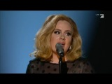 Adele at the 54th Gremmy Awards 2012 Rolling in the deep